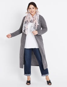 Beme long sleeve knit cover up