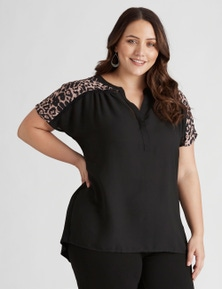Beme extended sleeve MM top