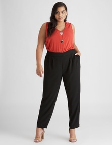 Beme ankle tapered soft pant