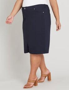 Beme 5 pocket denim skirt