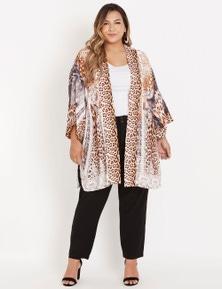 Beme 3Q sleeve placement prt kimono