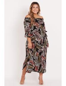 Beme Sunsent Palm Dress
