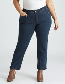 Beme Sophie Straight Leg Short Jean