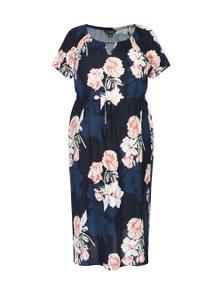 Curve Society extended sleeve maxi dress