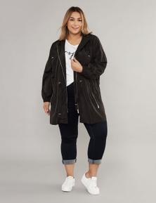 Curve Society Long Sleeve Rain Jacket
