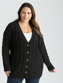 Beme Long Sleeve Chunky Knit