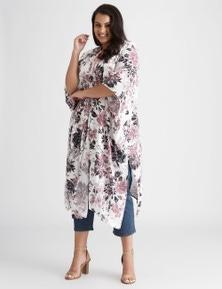Beme Floral Longline Kimono