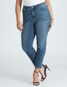Beme Mid Rise Core Regular Length Jean