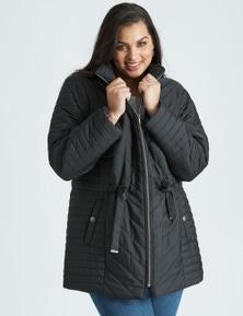 Beme Padded Hooded Coat