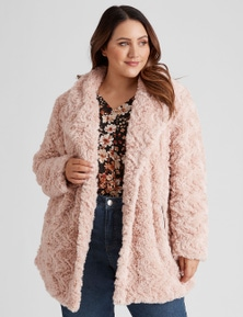 Beme Short Faux Fur Coat
