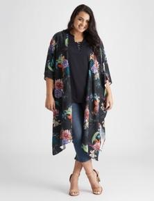 Beme Floral Kimono