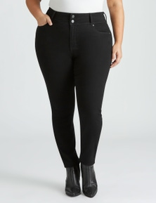 Beme Double Button Skinny Fit Jean