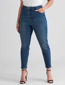 Beme Mid Rise Authentic Skinny Jean