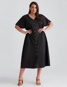 Beme Elasticated Waist Tea Dress
