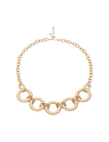 BATTERED RINGS NEACKLACE