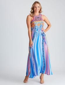 Crossroads orida Print Maxi Dress
