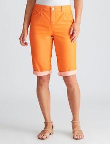 Crossroads Coloured Knee Short