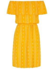 Crossroads Mini Aztec Dress