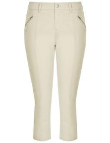 Crossroads Zip Cropped Pant