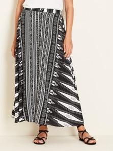 Crossroads Tribal Maxi Dress Skirt