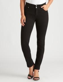 Crossroads Slim & Shape Straight Leg Jean