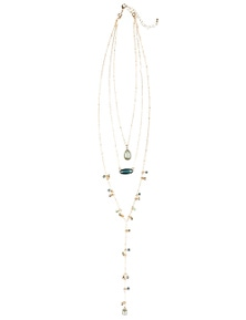 Crossroads Fine Layer String Necklace