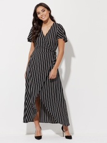 Crossroads Wrap Maxi Dress