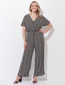 Crossroads Flextend Sleeve Jumpsuit