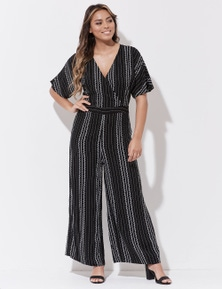 Crossroads Wrap Front Jumpsuit