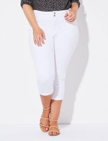 Crossroads Slim & Shape Straight Cropped Jean