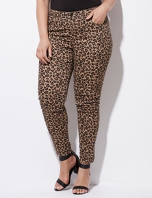 Crossroads Full-Length Animal Skinny Jean