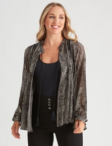 Crossroads Tassel Trim Soft Jacket