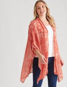 Crossroads Cuff Sleeve Kimono