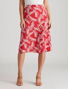 Crossroads Button Side Maxi Dress Skirt