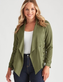 Crossroads Waterfall Suede Jacket