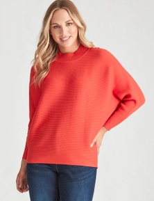 Crossroads Ribbed Knit Jumper