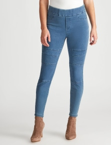 Crossroads Detailed Seam Jegging