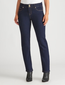 Crossroads Slim & Shape Straight Leg Jean