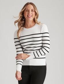 Urban Striped Pullover