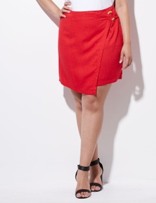 Crossroads Side Ring Mini Skirt