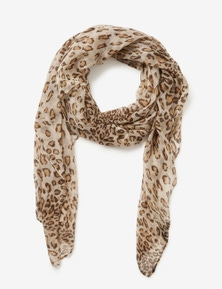 Crossroads Animal Print Scarf