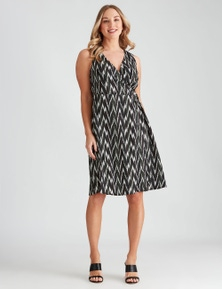 Crossroads D Ring Wrap Dress