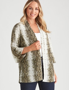 Crossroads Soft Print Jacket
