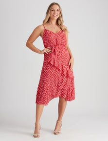 STRAPPY RUFFLE DRS