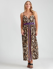 Crossroads Ring Back Maxi Dress