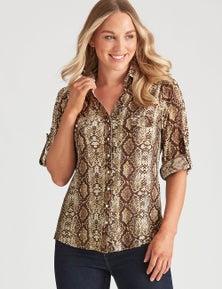 Crossroads Longsleeve Knit Shirt