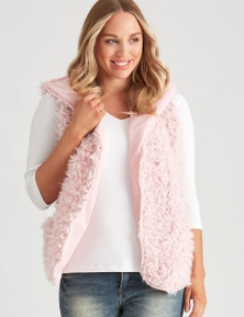Crossroads Fluffy Vest