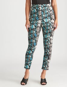 Crossroads Printed Suedette Pant
