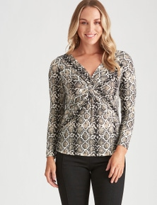 X-FRONT 3/4 SLV TOP