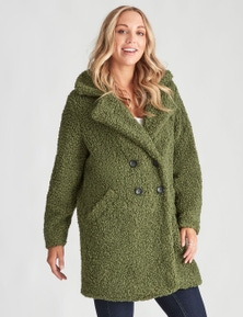 Crossroads Teddy Coat